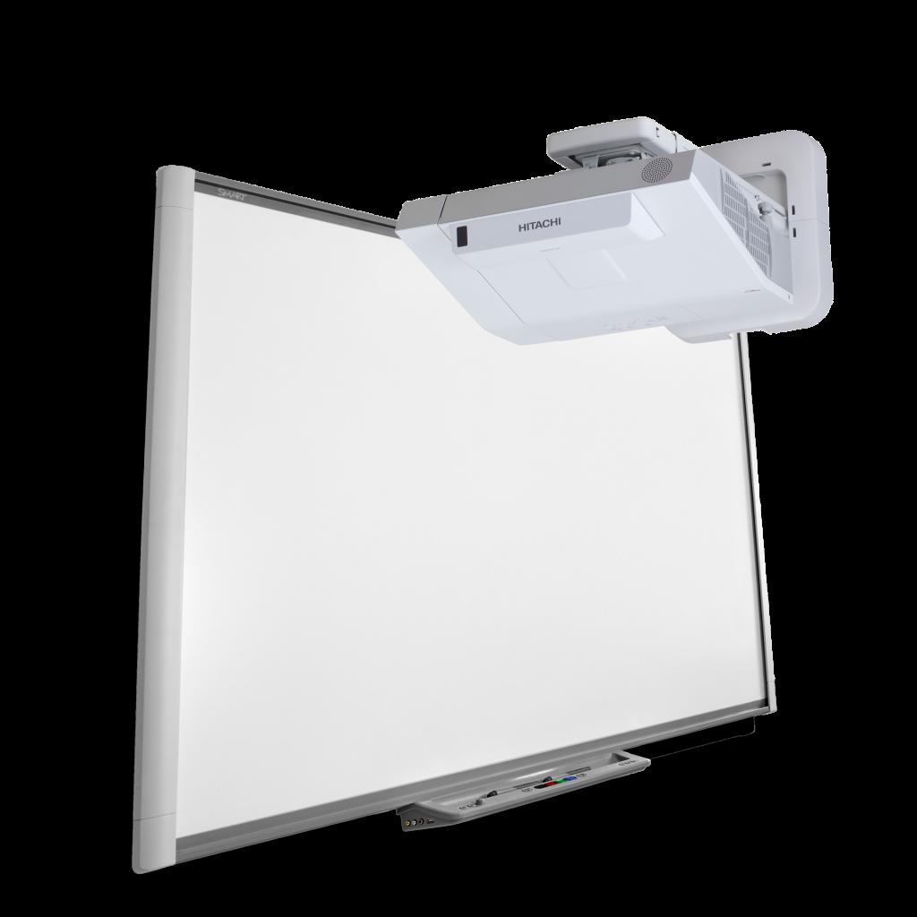 tablica_interaktywna_smart_m680_z_projektorem_o_ultrakrotkiej_ogniskowej_cp_ax2504_hitachi_zestaw_interaktywny