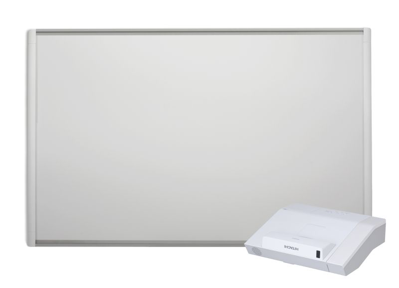 zestaw_interaktywny_tablica_interaktywna_smart_m680V_projektor_hitachi_cp_ax_2505